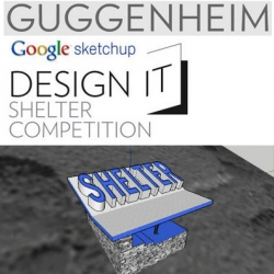 The Guggenheim Museum and Google's SketchUp and Virtual Earth has a new design competition. You create a shelter design with Google SketchUp, choose where on earth it is to go on Google Earth and you're entered. Learn all about it here.