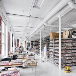 "A peek at the Design Library: ""the fashion and decorating worlds' best-kept secret"""
