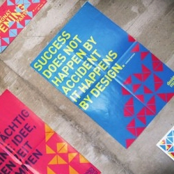 "Fresh triangles for Austrian-based ""Designmonat Graz"" aka ""First Design of the Month"""