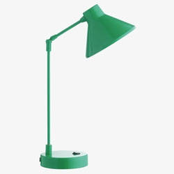 Habitat's Bobby Desk Lamp in Jade Green