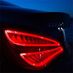 "The new Mercedes-Benz CLA was enticing and intriguing in the Super Bowl ""Soul"" ad... take a look at it up close on our adventures with it in St Tropez. The lights and grill have great design details!"