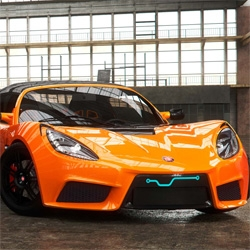 The Detroit Electric SP:01 is a limited-edition, two-seat pure-electric sports car made in the US.