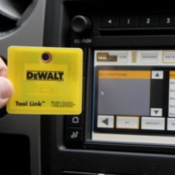 Ford trucks with Dewalt - now keeping a running tally of what construction tools are back on board and which may have been left on the job site. It's part of Tool Link, a $1,500 RFID tag option for Ford trucks.