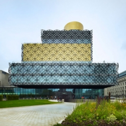 After completing Europe's largest public library in Birmingham, architect Francine Houben of Dutch studio Mecanoo spoke to Dezeen about the role of the library in the digital age and claims libraries are as central to society as cathedrals once were.