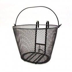 Kiosk's Lift-Off Bicycle Basket ~ vinyl coated metal from solna, sweden and only $40.
