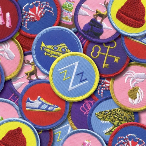 The Anderson Scouts: Merit Badges Inspired by Wes Anderson - kickstarted by Tracie Ching