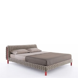 'Ruché beds and side tables designed by Inga Sempe for Ligne Roset.