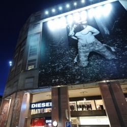The First Diesel Planet Store opens in Milan, San Babila Square, as the biggest Diesel Store worldwide measuring over 1500 square meter