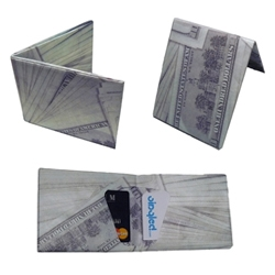 Dynomighty's NEW redesigned Mighty Wallets™ on Vinyled.com.  100% Recyclable, Expandable, Strong, Lightweight and Thin! Made from a one single sheet of Tyvek (like FedEx envelopes).