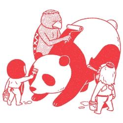 Wonderfully old fashioned illustrations by Kimiaki Yaegashi.