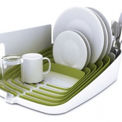 Sexy new dish drying rack from Joseph Joseph.
