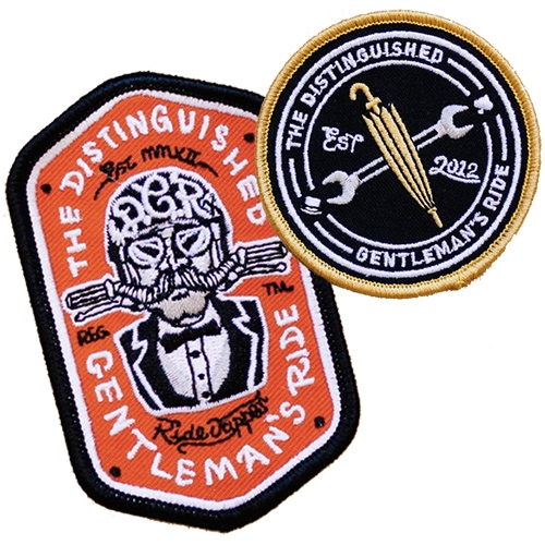Distinguished Gentleman's Ride Patches