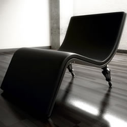 """limited edition design """"Divine"""" lounge chair collection from Ventury Paris"""