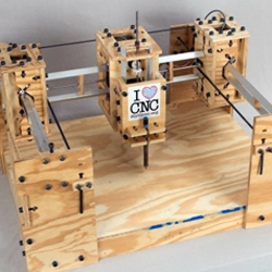 Just spotted at Siggraph - DIYlilCNC just introduced the DIY CNC machine 2.0. This version gets bigger and better, allowing you to mill larger pieces faster.