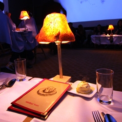 It all starts with a lamp made of bread, and a candle made of butter... Dine on Design ~ see how this 8 course designer feast unfolds!