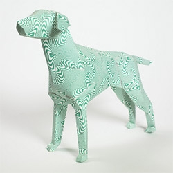 More than 100 of the world's most exciting and influential artists, illustrators and designers including Oliver Hibert, Tatiana Arocha, Insa, Stanley Chow, Kai and Sunny and Pete Fowler have taken a paper dog and made it their own.
