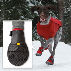 Bark'n Boots Polar Trex ~ the winter wear booties for your dog