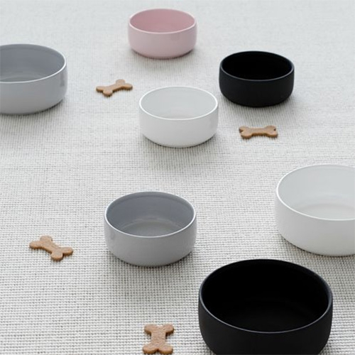 Kind for Dogs Ole Hyvä Ceramic Dog Bowls - beautiful and handmade in Finland. Pretty and multipurpose enough for other kitchen/home use too.