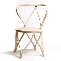 Dohoon Kim's elegant 'Tension' Bentwood chair.