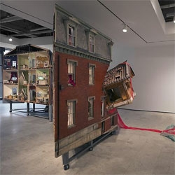Home Within Home, an exhibition by Do Ho Suh at Lehmann Maupin gallery in New York.