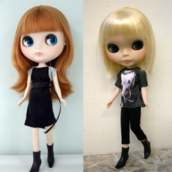 Target has commissioned Alexander McQueen to create a high fashion collection at a street-smart price. It will be launched on March 4th ~ and Nitrolicious has a great sneak peek of the Blythe doll models!
