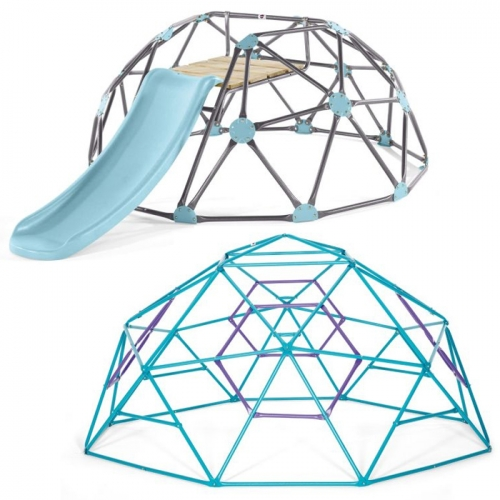 Plum Play Phobos Metal Climbing Dome and Large Climbing Dome with a SLIDE!