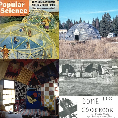"Curbed ""There's No Place Like Dome - How America's back-to-the-land movement gave rise to the geodesic dome home"" A fun read with lots of vintage pics of the Buckminster Fuller fueled 70s dome love."