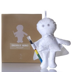 Drawing Doll Hero ~ scribble away, and it can wash right off...