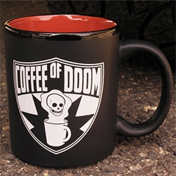 Questionable Content's Coffee of Doom mug