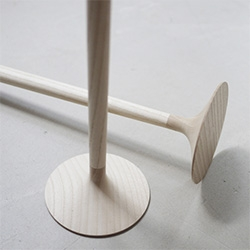 Door Stopper is a minimalist design created by Germany-based designer Sarah Boettger for Common Things exhibition.