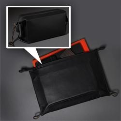 Killspencer Dopp Kits - It can swap from a box like dopp shape to a flat folio shape.