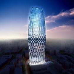 Zaha Hadid Architects have produced a design for the Dorobanti Tower in Bucharest, Romania.