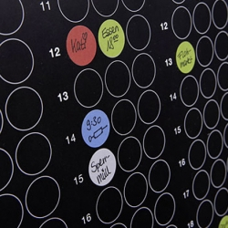 Dot On by a couple of german graphc designers is a really nice planner for the impotant dates in 2011.