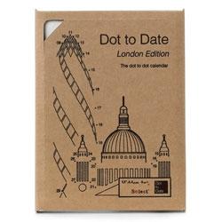 Dot to Date, the dot-to-dot calendar by Dan Usiskin.