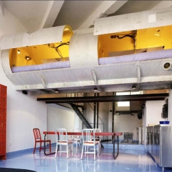 Live in a recycled parking garage? Sleep in a recycled  petroleum tank?  Absolutely! - Morton Loft - by Lot EK [click to renovations, residential]