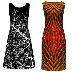CONSTRVCT IS FASHION DESIGN REVOLUTION - Nervous System has created some fun patterns for dress prints over at Constrvct.