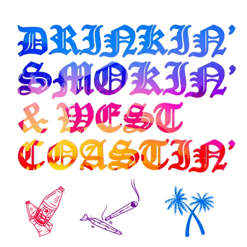 Drinkin' Smokin' & West Coastin': A Group Love/Hate Letter to LA opens tonight at the Think Tank Gallery in DTLA - and that's just the beginning of an epic month of events, installations, and quite the roster of artists.