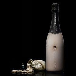 Zarb Champagne - gorgeously playful packaging design that makes you think differently about the pleasures of champagne...
