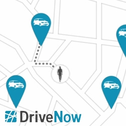 DriveNow, a Munich based car share scheme for BMW and Mini Coopers. Great video of the program and app!