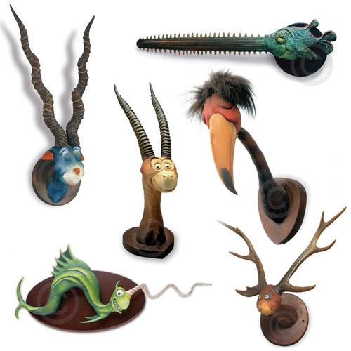 The Art of Dr. Seuss Collection of Unorthodox Taxidermy.