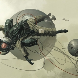 Neat illustrations by Derek Stenning
