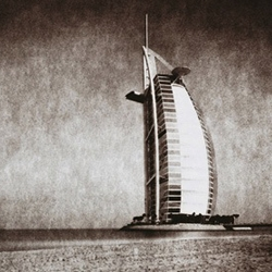 Look at Dubai through the lens of a 150 year old Camera.  This series was made by French photographer Martin Becka.