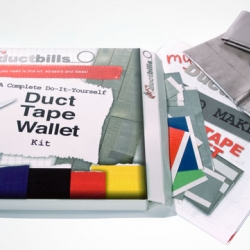 DIY duct tape wallet from my duct bills.