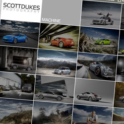 Scott Dukes, Los Angeles based automotive and sports photographer, has a new portfolio site up. [Editor's Note: Beautiful car pics!]