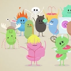 Dumb Ways To Die - adorably illustrated music video animated PSA from McCann Australia for the Melbourne Metro train system.