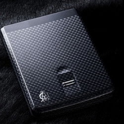 Unique Biometric wallet released by Dunhill to ensure the highest level of security for one's wallet.