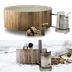 The Dutchtub Wood edition - the original Dutchtub gets woody!