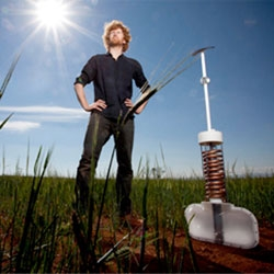 Edward Linacre's Namib beetle inspired Airdrop Irrigation system wins the James Dyson award.