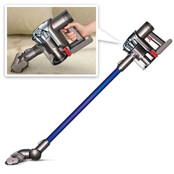 Dyson DC44 Animal ~ the latest update of the Dyson Handhelds (my favorite of the line that we use at NOTCOT all the time!)