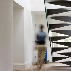 Stunning staircase from Bell Phillips for a south London home.